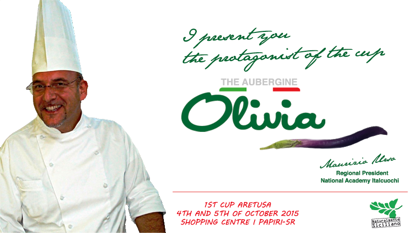 The aubergine Olivia as protagonist of the 1st Cup Aretusa